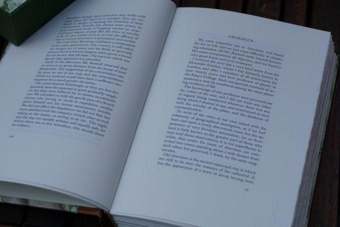 Samuel Johnson, A Journey to the Western Islands of Scotland